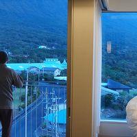部屋の窓からの絶景
