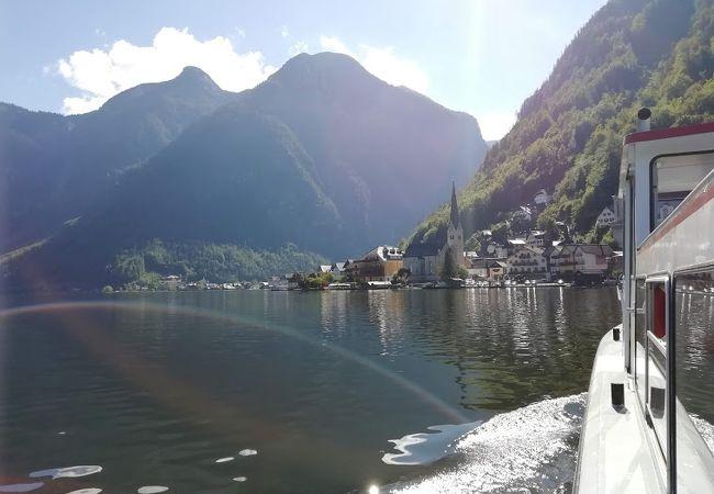 ハルシュタット湖連絡船