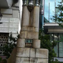 京橋の親柱