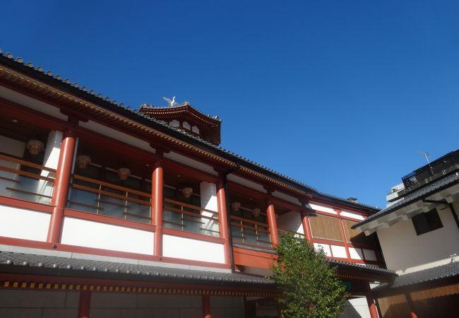 飛鳥時代風の建物