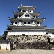 日本最古の木造復元城