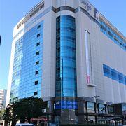 広島駅前の地元百貨店