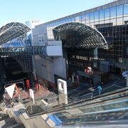 京都駅上空にある通路