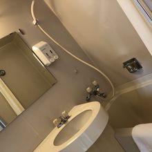 可動式シャワーとバスタブ