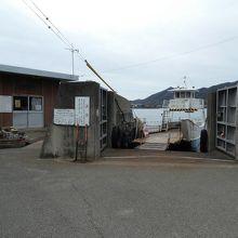 高島汽船。市街側。