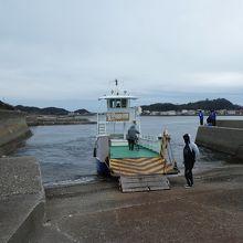 岡崎汽船。大毛島側。