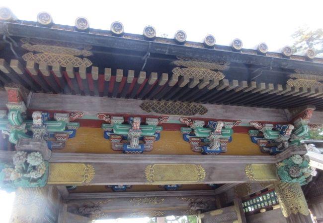 妙義神社 唐門