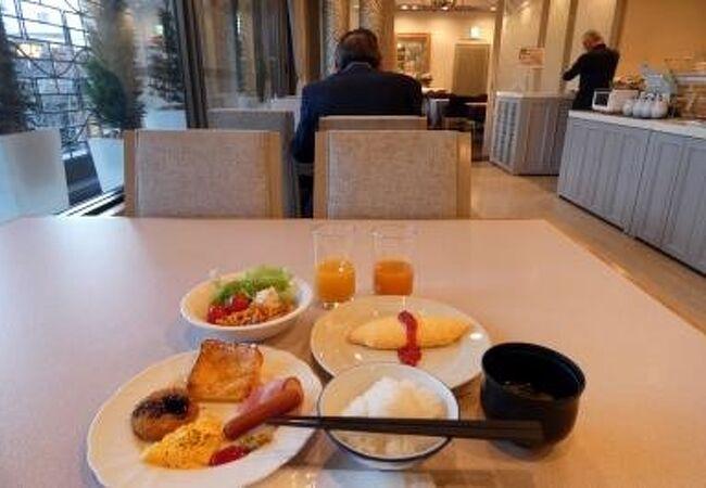 沼津リバーサイドホテル ダイニングレストラン ケヤキの朝食