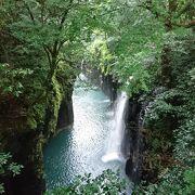 真名井の滝が有名な峡谷