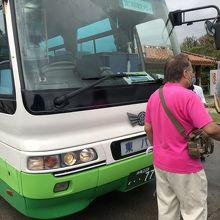 東バスの「定期観光バス」