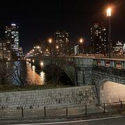 夜の【萬代橋】も良い感じ、