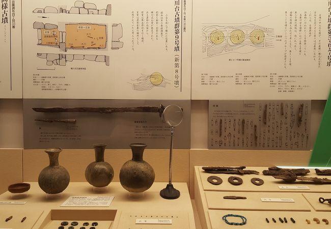 多摩川台公園古墳展示室