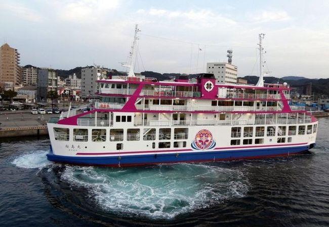 フェリー 桜島