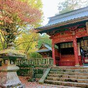 紅葉の浅間神社