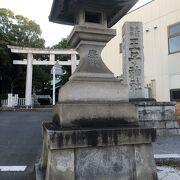 王子駅近くの、歴史ある神社。