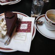 ウィーンでは是非食べたいザッハトルテ