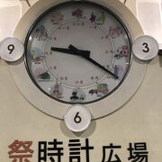 面白い時計