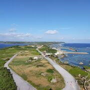 灯台から岬方面の写真は午前中がベスト
