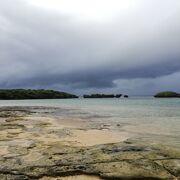 西表島1と呼ばれる砂浜