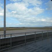 日本海に面した空港