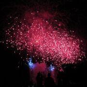 豪華な花火