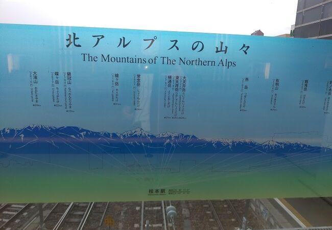 松本駅2階