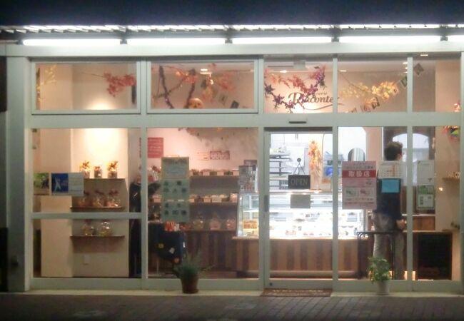 横須賀スタジアム近くの洋菓子店