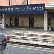ヴェローナ ポルタ ヌオーヴァ駅