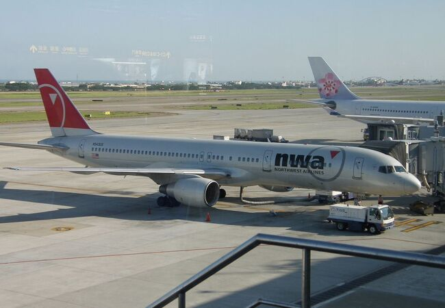 台湾最大の国際空港です。