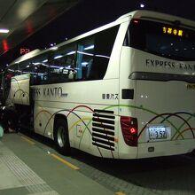 羽田空港から吉祥寺へのバス