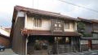 温泉と港のある小さな町の小さな造り酒屋
