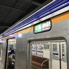 河内長野行き列車