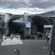 京都駅近くを一望できる