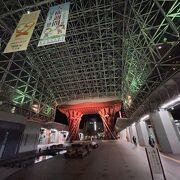 金沢駅前の大屋根