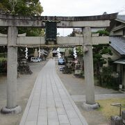茨木の大きな神社