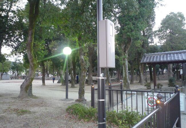 桜井駅跡史跡公園