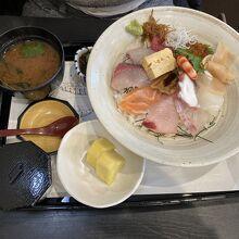 大皿海鮮丼