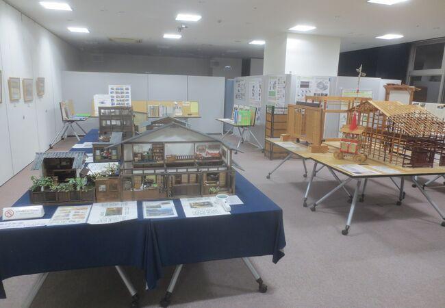 京都の町並みについて学べる