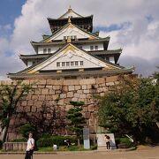 インバウンド客のいない大阪城は空いていました。