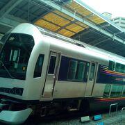 岡山まで直通で移動できます。