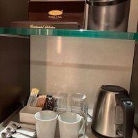 お茶、コーヒーがありました。