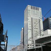 京浜東北線ホームからのホテル