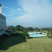 川奈ホテルゴルフコースは、大島コースと富士コースがあります。