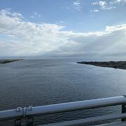 島根県と鳥取県にまたがる