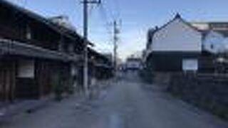 四間道(しけみち・名古屋):しけた町並み