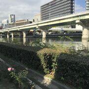 水晶橋は堂島川浄化のためのダム設備