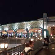 舞浜駅目の前の