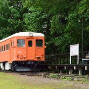 今は観光地となっている旧国鉄広尾線の駅