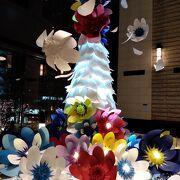 クリスマスツリー「花を愛する」