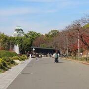 最初は京橋側から、二度めは玉造口からアクセス